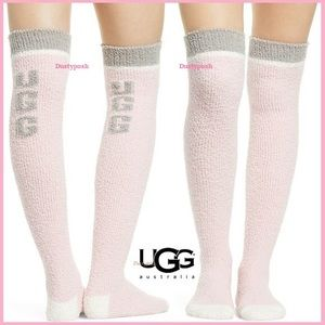 UGG Soft Cozy Over The Knee Socks Thigh High Boot